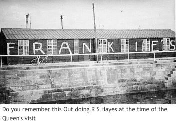 Do you remember this Out doing R S Hayes at the time of the Queen's visit
