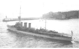 Carysfort Launched November 1914
